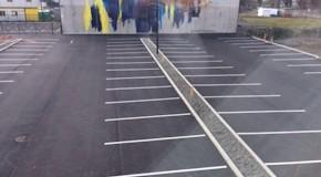 asphalt car parks